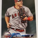Mike Trout 2018 Topps Update Base Card