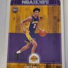 Lonzo Ball 2017-18 NBA Hoops Rookie Card