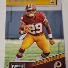 Derrius Guice 2018 Playoff Rookie Card