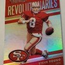 Steve Young 2018 Absolute Revolutionaries Insert Card