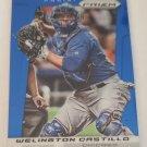 Welington Castillo 2013 Prizm Prizms Blue Insert Card