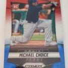 Michael Choice 2014 Prizm Prizms Red White Blue Pulsar Rookie Card