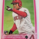 Yasmany Tomas 2015 Topps Chrome Pink Refractor Rookie Card