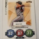 Buster Posey 2010 Topps Update Attax Code Cards Insert Card