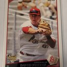 David Freese 2009 Topps Rookie Card