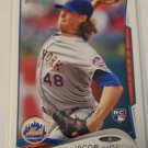 Jacob DeGrom 2014 Topps Update Rookie Card