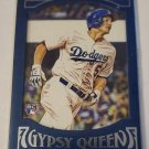 Corey Seager 2016 Gypsy Queen Framed Blue Rookie Card