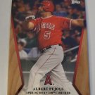 Albert Pujols 2017 Topps On Demend 600 Home Run Club Insert Card