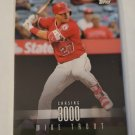 Mike Trout 2017 Topps On Demand 3000 Hit Club Insert Card