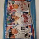 Mike Trout, Miguel Cabrera, & Joe Mauer 2014 Topps Walmart Blue Insert Card