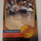 Mickey Mantle 2012 Topps Golden Greats Insert Card
