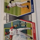 Derek Jeter & Barry Larkin 2011 Topps Diamond Duos Insert Card