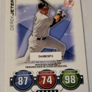 Derek Jeter 2010 Topps Update Attax Code Cards Insert Card