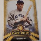 Babe Ruth 2015 Topps The Babe Ruth Story Insert Card BR6