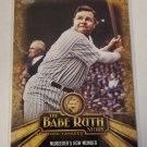 Babe Ruth 2015 Topps The Babe Ruth Story Insert Card BR8