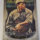 Babe Ruth 2016 Topps MLB Debut Gold Insert Card