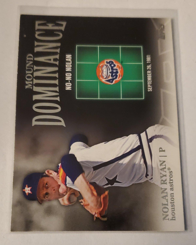 Nolan Ryan 2012 Topps Mound Dominance Insert Card