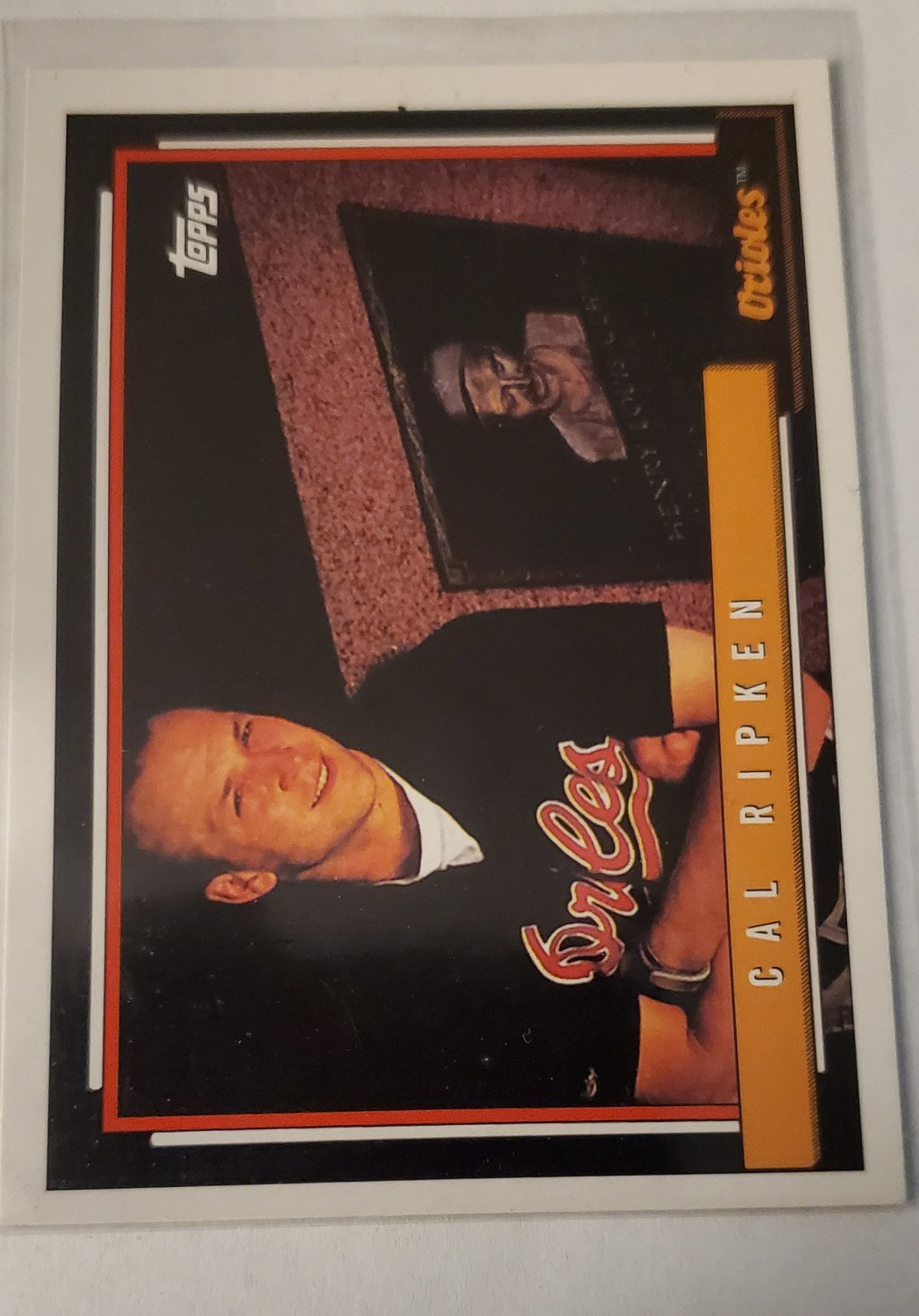 Cal Ripken 2010 Topps Cards Your Mom Threw Out Insert Card