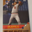 Cal Ripken 2017 Topps On Demand MLB All Star Game Insert Card