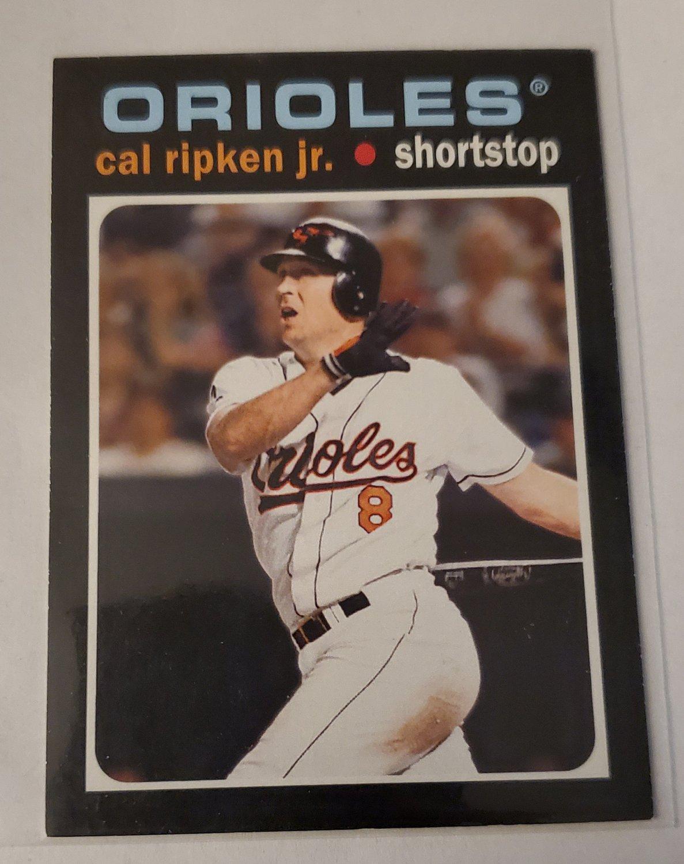 Cal Ripken 2013 Topps '71 Topps Mini Insert Card