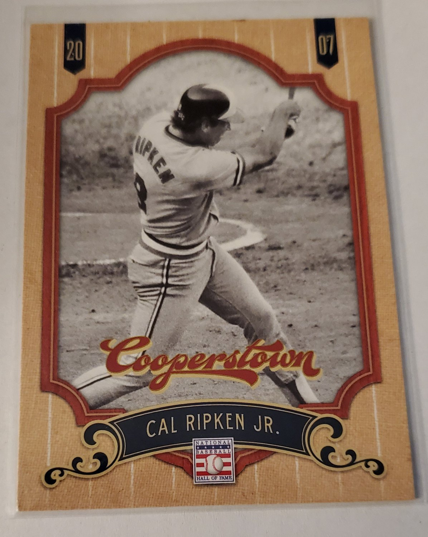 Cal Ripken 2012 Cooperstown Base Card
