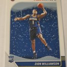 Zion Williamson 2019-20 NBA Hoops Winter Rookie Card
