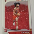 Coby White 2019-20 NBA Hoops Winter Rookie Card