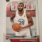 Dewan Hernandez 2019-20 NBA Hoops Winter Rookie Card