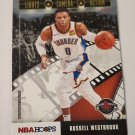 Russell Westbrook 2019-20 NBA Hoops Winter Lights Camera Action Insert Card