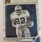 Emmitt Smith 2019 Donruss The Legends Series Insert Card