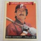 Mike Schmidt 2008 Upper Deck Goudey SR Mini Red Back Insert Card