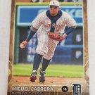 Miguel Cabrera 2015 Topps Throwback Variations Insert Card