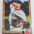 Junichi Tazawa 2015 Topps Throwback Variations Insert Card