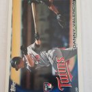 Danny Valencia 2010 Topps Update Rookie Card
