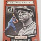 George Brett 2015 Donruss All Time Diamond Kings Insert Card