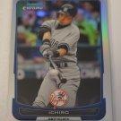 Ichiro 2012 Bowman Chrome Refractor Insert Card
