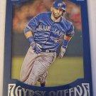 Jose Bautista 2016 Gypsy Queen Framed Blue Insert Card