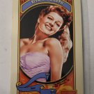 Rita Hayworth 2014 Golden Age Mini Hindu Brown Back Insert Card