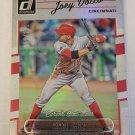 Joey Votto 2017 Donruss Stat Line Career SN 155/221 Insert Card