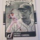Miguel Cabrera 2016 Donruss DK Base Card