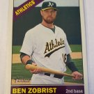 Ben Zobrist 2015 Topps Heritage SP Base Card