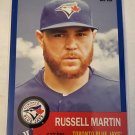 Russell Martin 2016 Topps Archives Blue SN 183/199 Insert Card