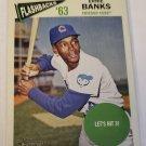Ernie Banks 2012 Topps Heritage Baseball Flashbacks Insert Card