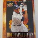 Alex Rodriguez 2008 Upper Deck Hot Commodities Insert Card
