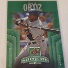 David Ortiz 2010 Upper Deck Supreme Green Insert Card