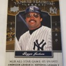 Reggie Jackson 2008 Upper Deck Yankee Stadium Legacy Historical Moments Insert Card