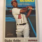 Victor Robles 2019 Topps Heritage SP Base Card