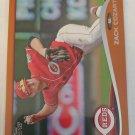 Zack Cozart 2014 Topps Orange Insert Card