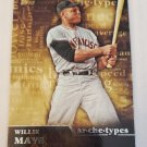 Willie Mays 2015 Topps Archetypes Insert Card