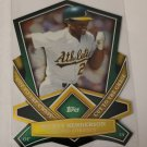 Ricky Henderson 2013 Topps Cut To The Chase Insert Card